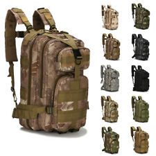 Backpack Camping Travel Bag 30L Waterproof Military Tactical Pack Sports