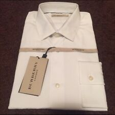 Burberry Men's White Tailored Fit Melforth Shirt