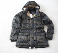 Womens Abercrombie & Fitch Hoodie Quilted Water Resistant Jacket Size XS, M, L,