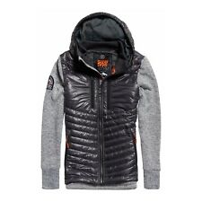Sudadera Con Capucha Superdry Storm Hybrid Light Gris