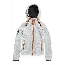 sudadera con capucha Superdry Storm Doble Light Gris