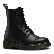 Dr Martens 11822006 Unisex 1460 Black Smooth 8 Eye Boots