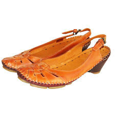 RRP £89 PIKOLINOS WOMENS  SHOES SLIP ON LEATHER BRANDY OLMO SANDALS  UK 4-7