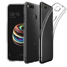 For Xiaomi MI A1 New Genuine All Clear Silicone Slim Gel Rubber Phone Case Cover
