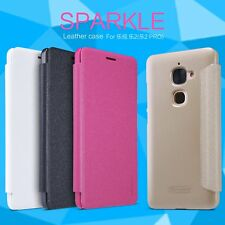 Nillkin Sparkle Faux Leather Flip Case Cover for LeEco (LeTV) Le 2 Pro