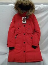 CANADA WEATHERGEAR WOMEN'S RED HOODED INSULATED PARKA (REG & PLUS) NWT