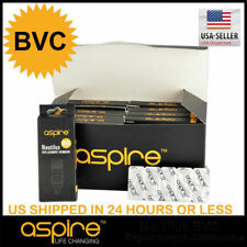 Includes FREE GIFT! | Aspire Nautilus BVC Coils | 1.6 1.8 Ohm | FAST FREE SHIP