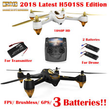 Hubsan H501S X4 Drone FPV Brushless 5.8G 1080P GPS Follow Me RC Quadcopter RTF