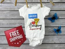 Special Delivery Arriving Baby Announcement, Baby Bodysuit, Gender Reveal Party
