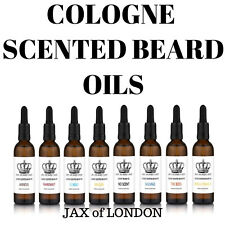 AFTERSHAVE SCENTED BEARD OIL 50ML 8 SCENTS + FREE BEARD BALM
