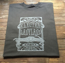 Jimi Hendrix T Shirt Electric Ladyland Classic Rock Guitar Psychedelic Style
