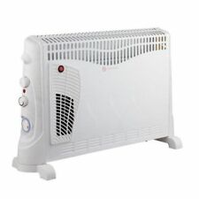 2000W Convector Heater with Turbo Function with Thermostat & Timer