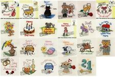 Mouseloft Mini Cross Stitch Kits  - Special Occasions - **BUY 3 - 15% OFF**