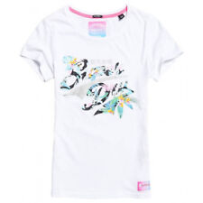T-shirt Superdry Stacker Infill Entry femme optic