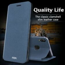 Mofi Sparkle Faux Leather Flip TPU Case Cover for VIVO V9 / Y85
