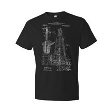 Oil Drilling Rig Shirt Oil Shirt Oil Well Oil Rig Roughneck Gift Gas Well Patent