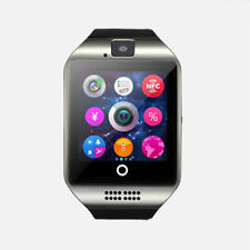 Q18 Bluetooth 2018 Reloj Inteligente Smartwatch GSM SIM Impermeable para Android