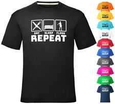 Eat Sleep Floss Repeat Dance T Shirt Boys Girls Kids Tee Top