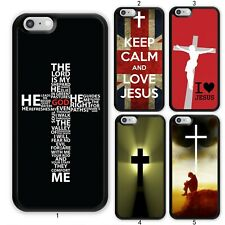 Jesus Christian Bible Cross Case Cover For Apple iPhone 11 iPod / Samsung Galaxy
