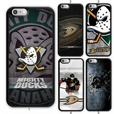 NHL Anaheim Mighty Ducks Ice Case Cover For Apple iPhone iPod / Samsung Galaxy