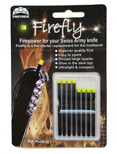 Firefly Variety 8 Pack Swiss Army Knife Fire Starter Steel Flint for Victorinox