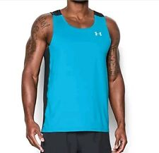 Under Armour Men's CoolSwitch Run Singlet - Fitted. Large or XL. Brand New.