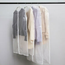 3 Sizes Clear Dust-proof Cloth Cover Suit/Dress Garment Bag Storage Protector