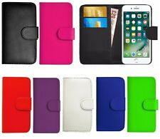 Black Book Wallet Flip PU Leather Stand Case Cover For Various LG Phones