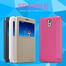 Nillkin Sparkle Faux Leather Flip Case Cover Lenovo Vibe P1m