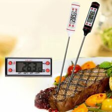 Digital Kitchen Thermometer Bbq Electronic Cooking Food Probe Meat Water Milk