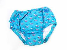 TWF Girls Unicorn Whale Design Reusable Swim Nappy