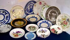 COLLECT UK PLATES - BONE CHINA & OTHER  click SELECT to browse or order