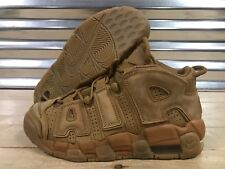 Nike Air More Uptempo SE GS Flax Gum Wheat Brown Suede Youth SZ ( 922845-200 )