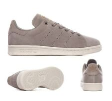 Womens Adidas Stan Smith Trainers Trace Cargo/White (SF32) RRP £74.99