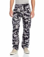 MENS LEVIS RELAXED FIT ACE CARGO PANTS DARK GRAY CAMOUFLAGE 124620019 ALL SIZES