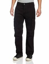 NEW MENS LEVIS RELAXED FIT ACE CARGO TWILL PANTS BLACK 124620011