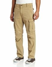 NEW MENS LEVIS RELAXED FIT ACE CARGO PANTS BRITISH KHAKI 124620010