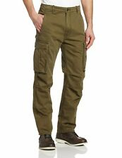NEW MENS LEVIS RELAXED FIT ACE CARGO PANTS IVY GREEN 124620004