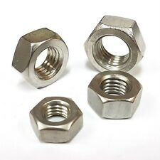 M2 M2.5 M3 M4 M5 M6 M8 UPTO M36 A4 Stainless Steel Full Nut DIN 934 Hex Hexagon