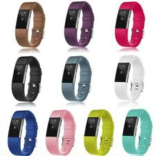 Fitbit Charge 2 Replacement Rubber Silicone Watch Band Strap Bracelet Wristband