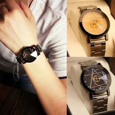 GOD Casual Luxury Analog Quartz Womens Watch Stainless Steel Wrist Watch