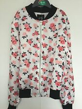 New Look  Summer - Flowery Light Weight Bomber Jacket BNWT age 12 - 13 Years