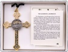 Church Lay Eucharistic Minister Cross & Lapel Pin