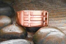 Atlantis Copper Talisman Amulet and Protection Ring