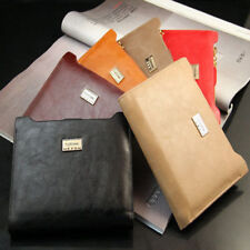 -Ladies PU Leather Bogesi Coin Zipper Credit Card /ID Holder Bifold Wallet-