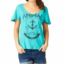 ANIMAL ABAA WOMENS SCOOP NECK SS T SHIRT
