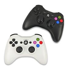 Bluetooth Wireless Gamepad Game Controller for PS3 Black / White