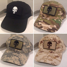 717f6127950 Special Forces Operator Military Baseball cap camo Embroidered Patch  Punisher