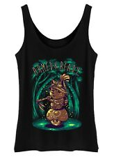 Armed and Ready Tank Top Womens Ladies Vest cute forest fox woodland