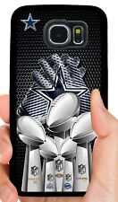 Dallas Cowboys Funda de Teléfono para Samsung Note Galaxy 3 S4 S5 S6 S7 Edge S8